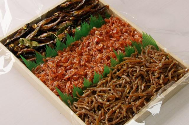 佃煮詰合せ(季節の湖魚3種類)