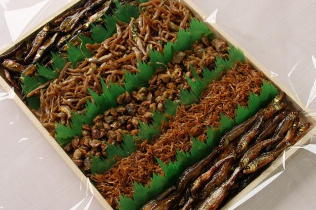佃煮詰合せ(季節の湖魚4〜5種類)