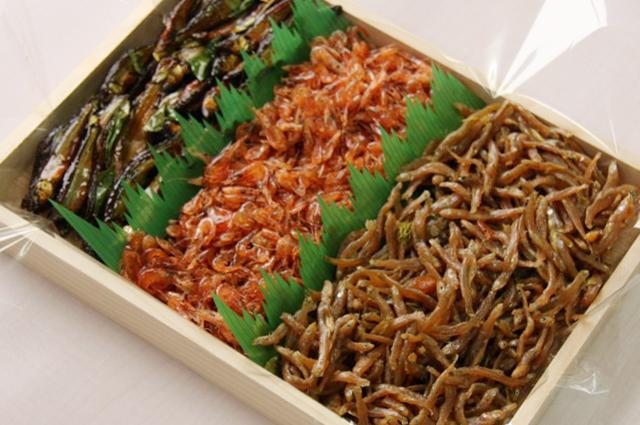 佃煮詰合せ(季節の湖魚2種類)